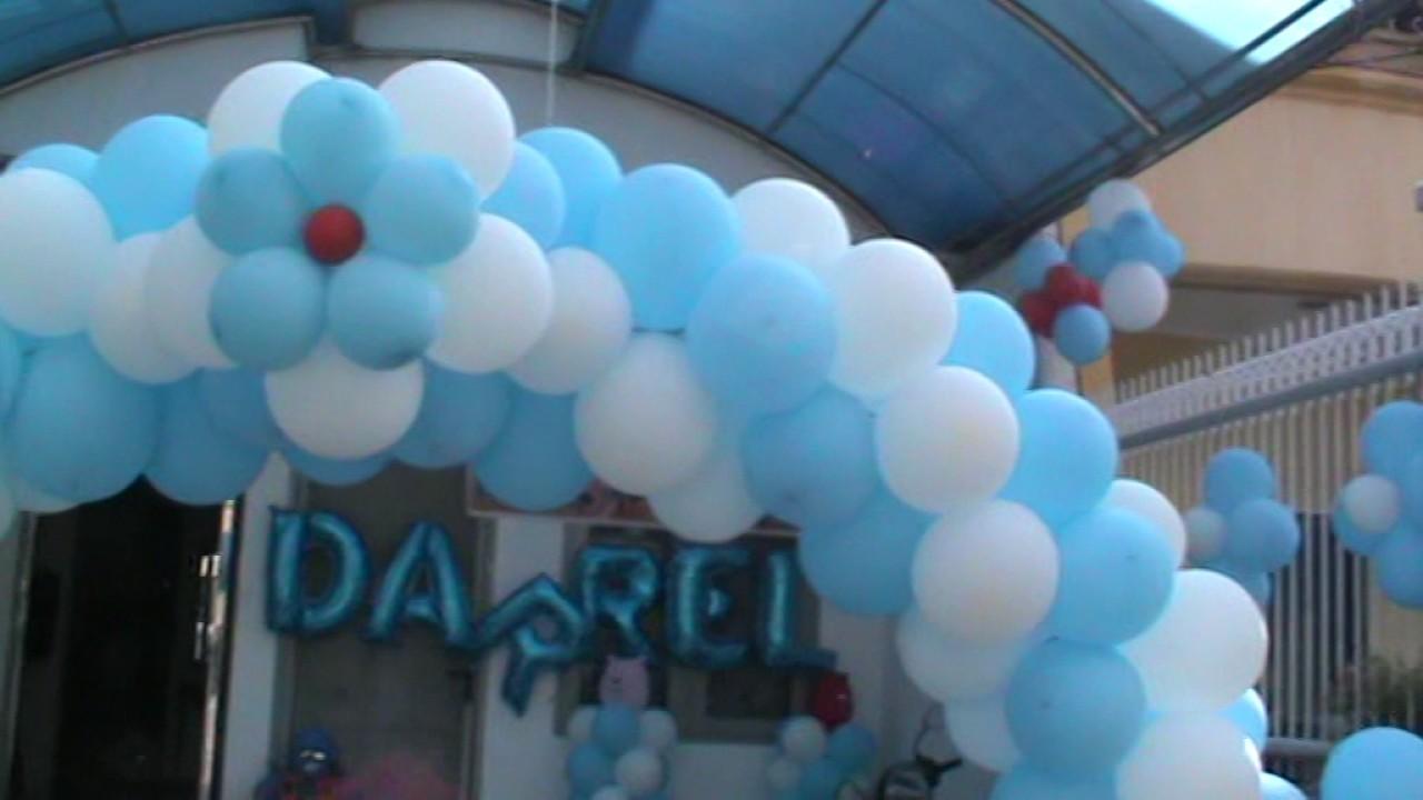 081806173601 Dekorasi Balon Dinding Special Ultah Anak Youtube