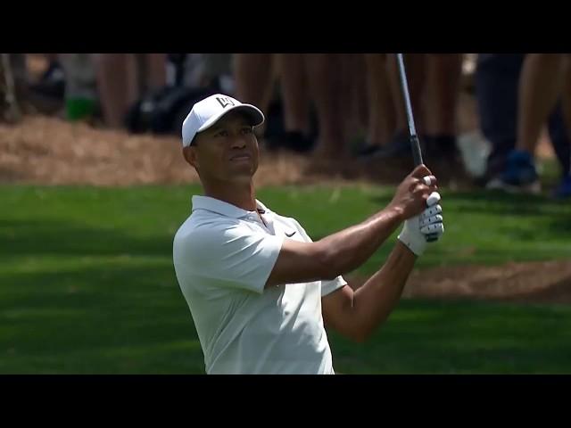Tiger Woods' Second Round in Under Three Minutes