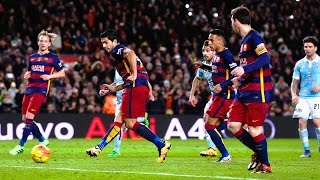Lionel Messi Penalty Assist to Luis Suarez ● Is This The First Penalty Assist Ever? ||HD||