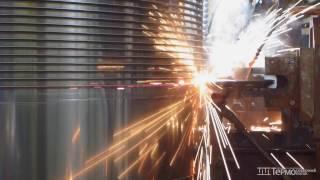 Процесс сварки оребренной панели для рекуператоров производства Термо Северной Поток(На данном видео представлен процесс сварки оребренной панели для производства рекуператора типа ОПТ. Со..., 2015-07-30T16:29:00.000Z)