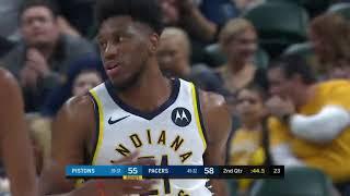 GAME RECAP  Pacers 111, Pistons 102   NBA