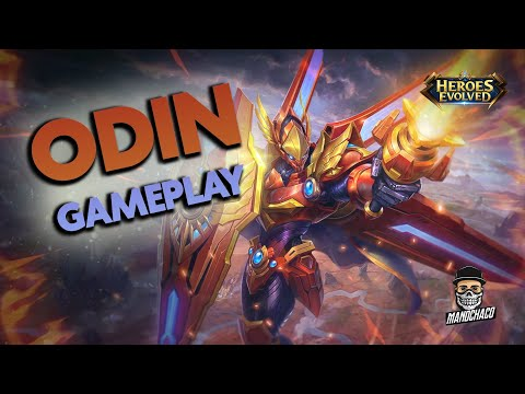 ODIN GAMEPLAY E BUILD • MADE IN CHINA KKK • HEROES EVOLVED MOBILE 💥
