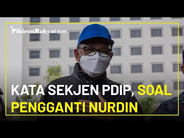 Hasto Kristiyanto: PDIP Belum Terpikirkan Cari Pengganti Gubernur Sulawesi Selatan Nurdin Abdullah
