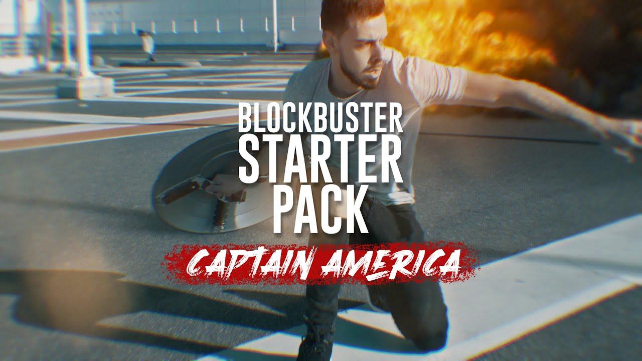 The BLOCKBUSTER Starter Pack - Captain America