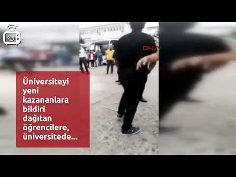 KTÜ'de öğrencilere özel güvenlik tekme tokat saldırdı