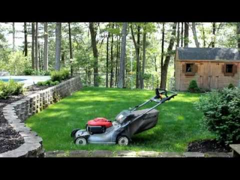 self propelled lawn mower honda