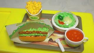 RE-MENT collectables #15 - Puchi Burger Thumbnail