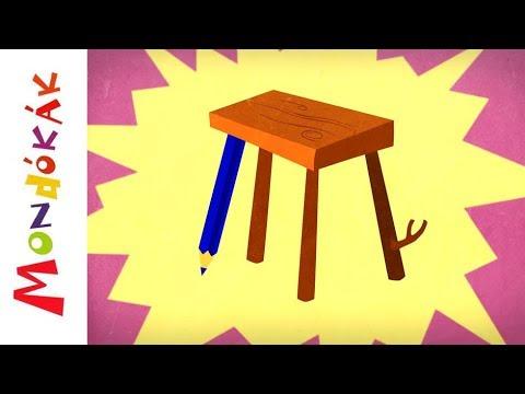Van mar kis szék  | Gyerekdalok és mondókák, rajzfilm gyerekeknek thumbnail