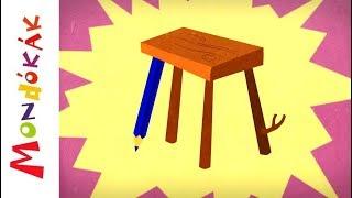 Van mar kis szék | Gyerekdalok és mondókák, rajzfilm gyerekeknek