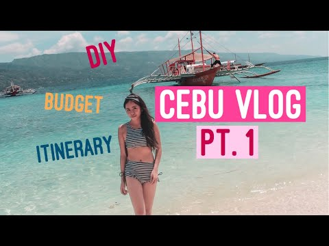 DIY Cebu Travel Vlog Day 1 to Day 2 (With Budget and Itinerary)