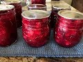 Canning Cranberry Rum Sauce