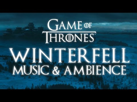 Game of Thrones  & Ambience  Winterfell Snowfall at Dusk