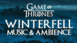 Game of Thrones Music & Ambience   Winterfell Snowfall at Dusk