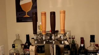 Woodturning Beer Tap Handles For A Microbrewery