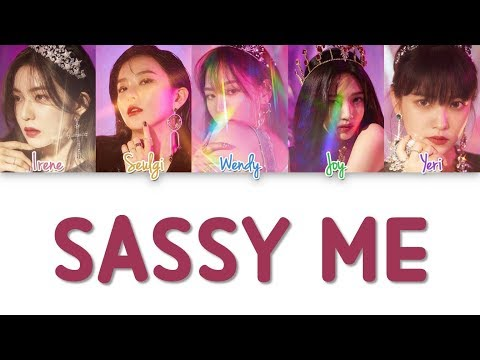 Red Velvet - Sassy me lyrics (Color Coded Han|Rom|Eng)