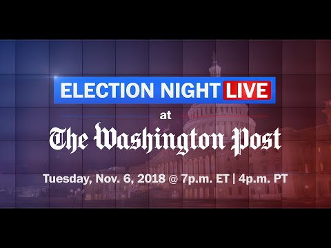 ELECTION NIGHT 2018: Watch the Washington Post live on YouTube