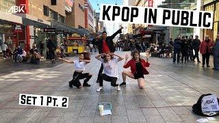 [KPOP IN PUBLIC] | ABK Crew Busking - Australia | Set One Part Two