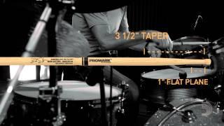 "Bob Gatzen Signature ""Balanced Groove"" Drumstick by Promark thumbnail"
