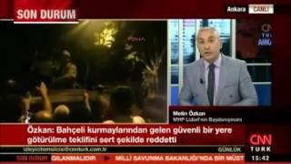 Metin ÖZKAN 15 Temmuz Darbe teşebbüsünde Devlet Bahçeli'nin yaşadıklarını anlattı