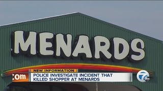 Police Investigate Incident That Killed Shopper At Menards