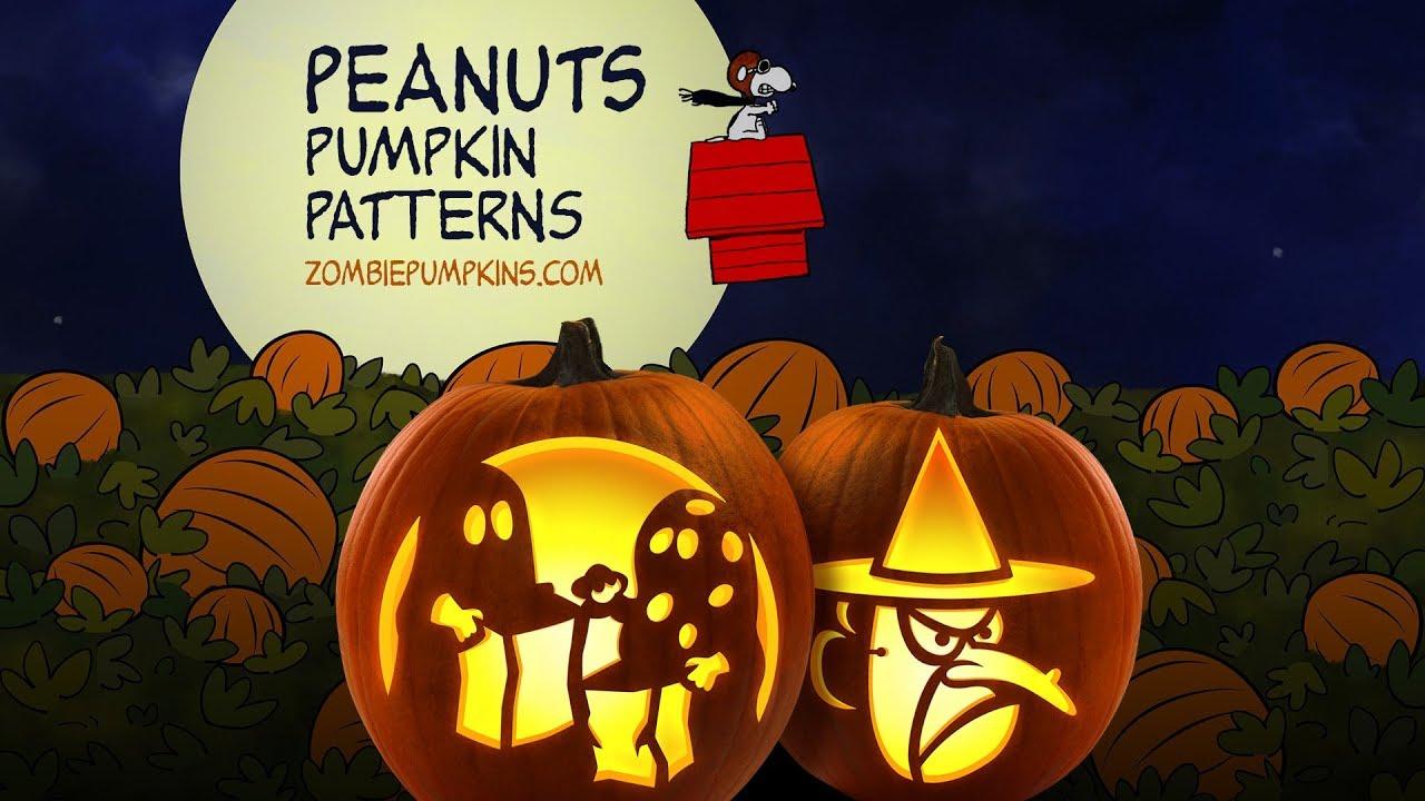 Peanuts Pumpkin Patterns By ZombiePumpkins