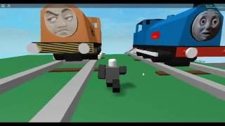Roblox Thomas trains crashes