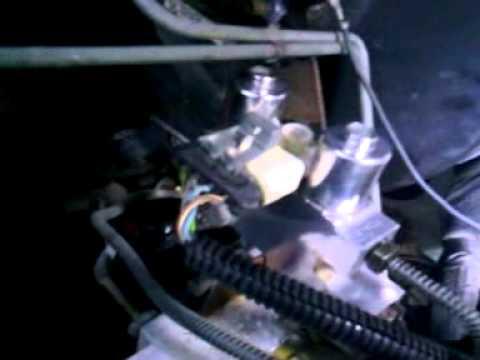 dodge dakota abs light on( stuck valve solenoid ) on