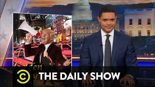 U.S. Diplomacy with Israel, Donald Trump-Style: The Daily Show