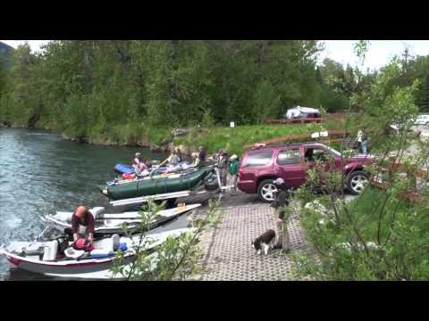 1st Day Of Salmon On The Kenai River In Cooper Landing, AK