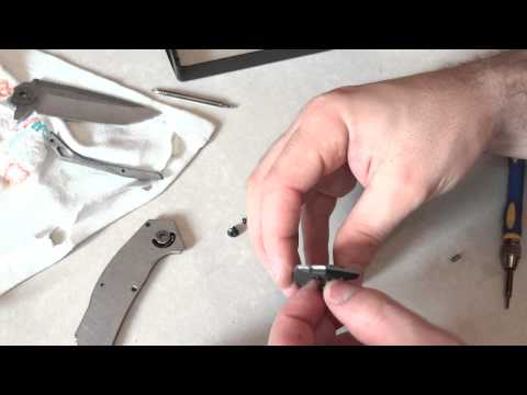 Поломка нового ножа, Kershaw - Free Fall ( Speed Safe breakage )
