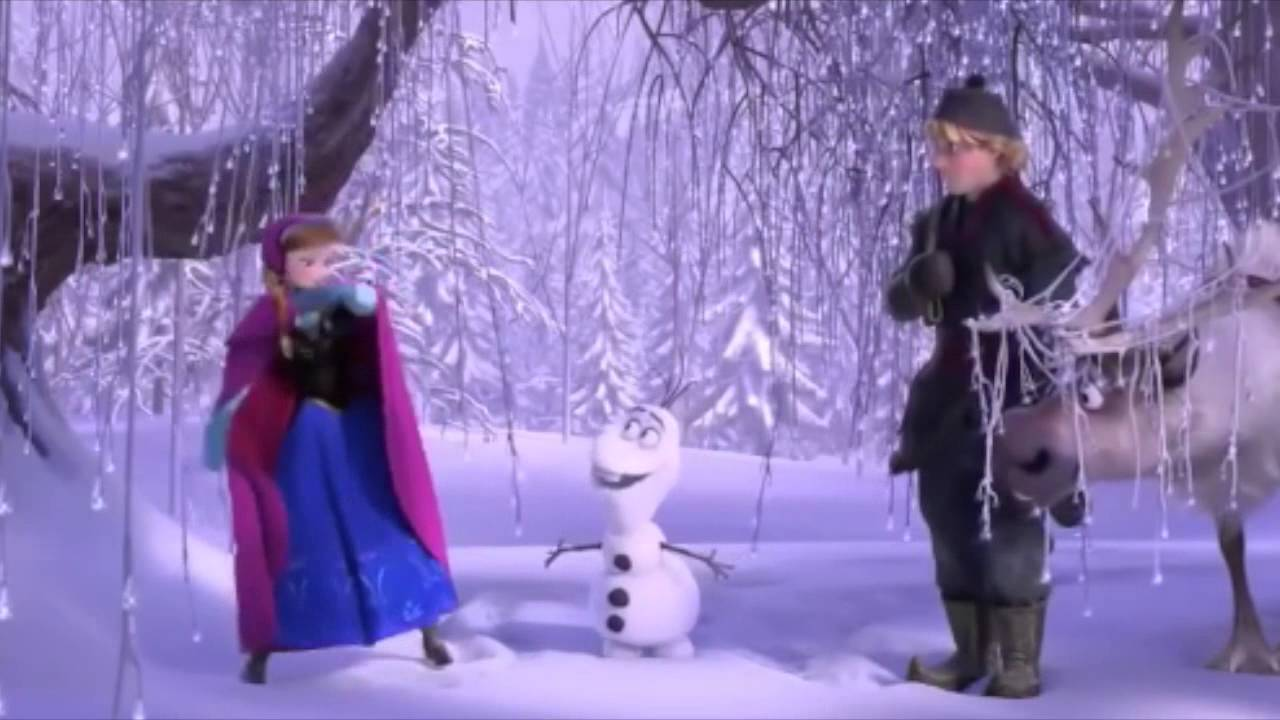 frozen anna and kristoff meet