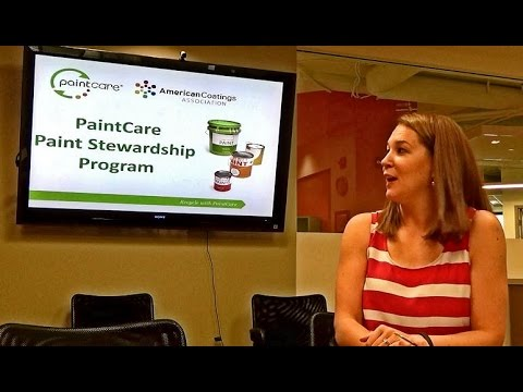 DCEN VIDEO:  PaintCare Paint Stewardship Program & DC