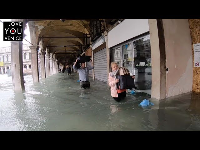 High Tide in Venice - I Love You Venice