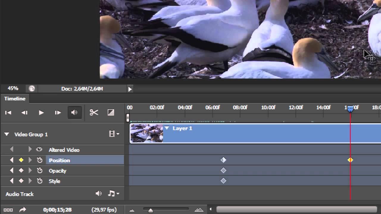 El Editor De Vídeo De Photoshop Cs6 Youtube