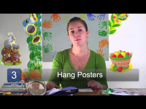 How To Decorate A Preschool Classroom