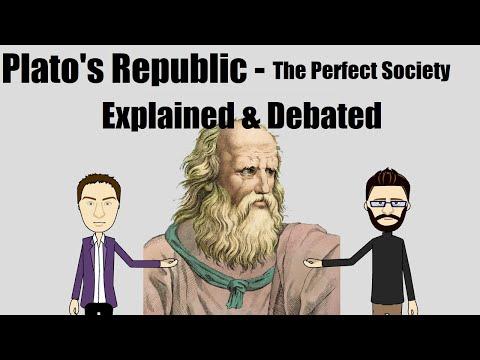 Plato's Republic - The Perfect Society