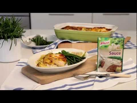 Recipe: Baked Fish With Cheese Sauce