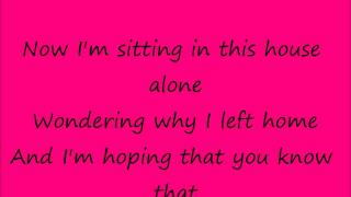 Alone again (part 2)- Alyssa Reid, karaoke