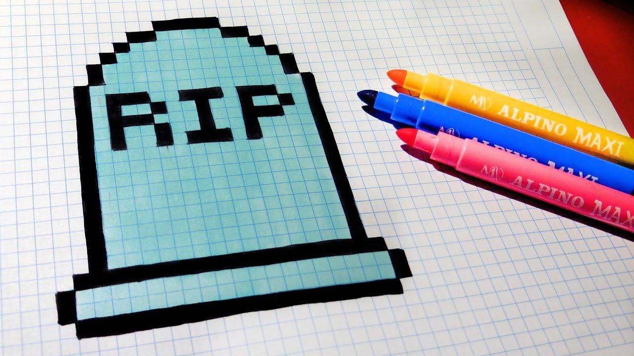 Pixel Art Vampire Facile
