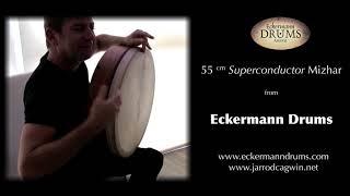 Mizhar Frame Drum Solo:  Jarrod Cagwin & Eckermman Drums