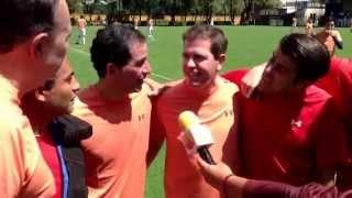 Televisa Deportes vs Artistas Televisa en partido amistoso