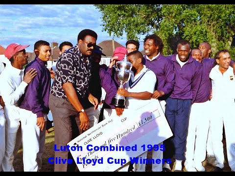 """The 1995 Clive Lloyd Final """"Luton Combined Innings"""""""