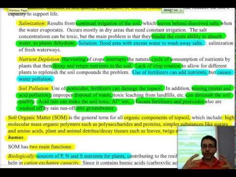 IB Chemistry: Environmental Chemistry: 5-Soil & Waste Disposal
