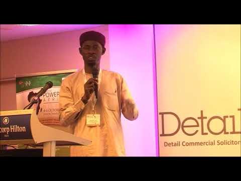 DETAIL Workshop on Off-Grid Solutions – Dr. Abdussalam O. Yusuf, Assistant General manager, NERC
