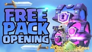 Free Pack Opening