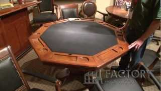Hillsdale Kingston Game Table - Factoryestores.com