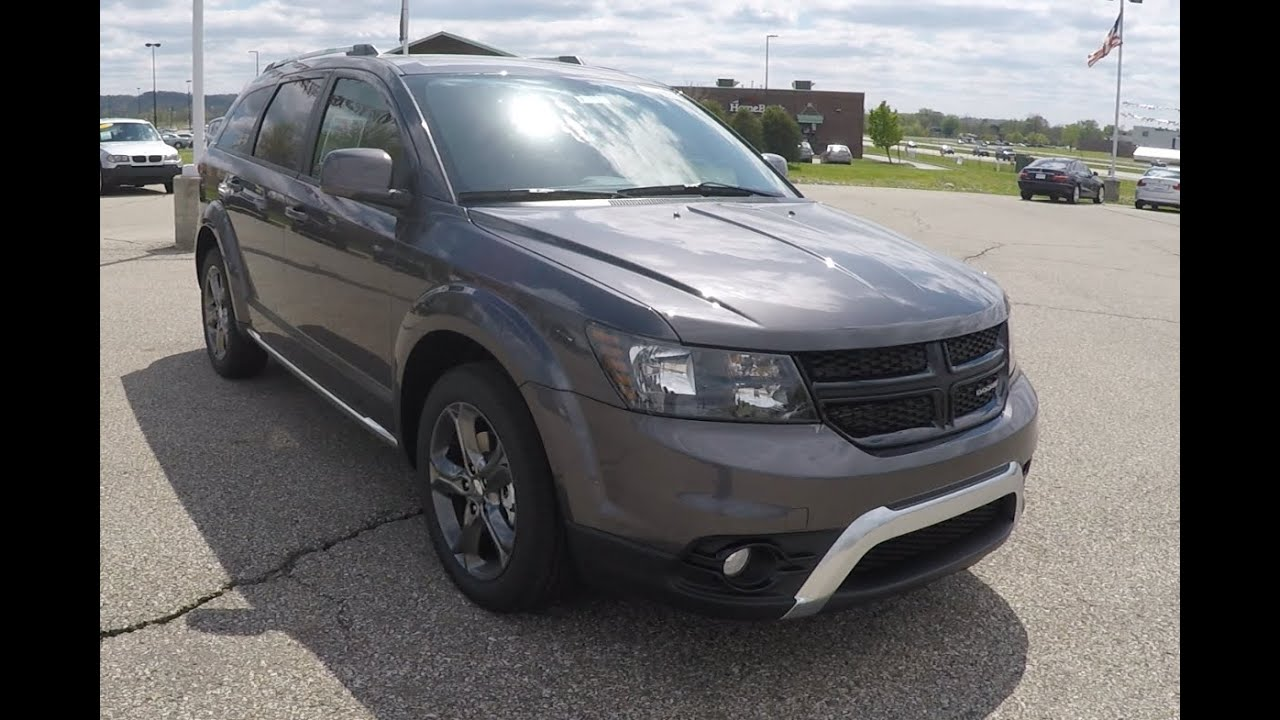 2015 Dodge Journey Crossroad >> 2015 Dodge Journey Crossroad FWD|17913 - YouTube