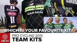 Pro Cycling - 2015 Team Kits