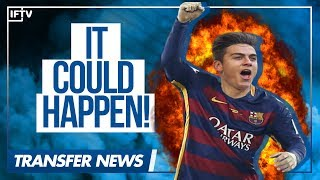 IS DYBALA THE REPLACEMENT FOR NEYMAR AT BARCELONA?! | Serie A Transfer News