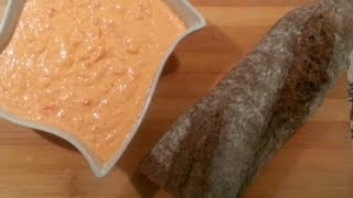 The Rustic Greek Cook:  tirokafteri, spicy cheese mezze (τυροκαυτερή)